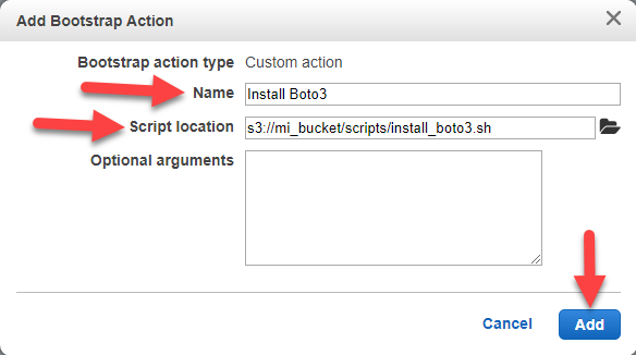 Using Bootstrap Actions in EMR - Amazon (AWS) - Morris & Opazo