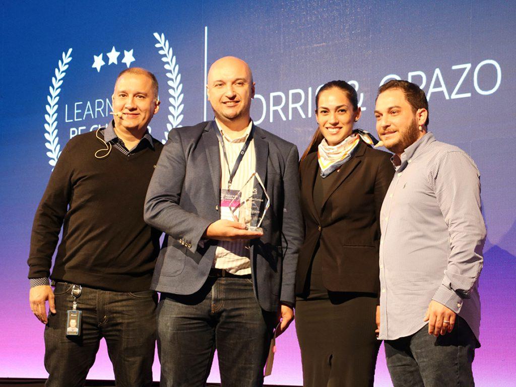 Destacada participación de Morris & Opazo en premiación de Amazon Web Services (AWS)