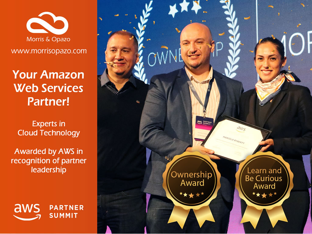 Outstanding participation of Morris & Opazo in awarding of Amazon Web Services (AWS)
