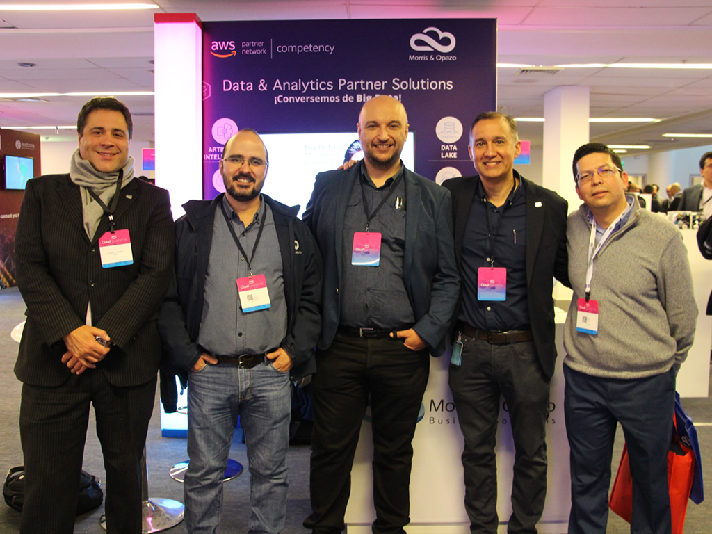 Morris & Opazo present as sponsor in the AWS Cloud Experience Chile 2019