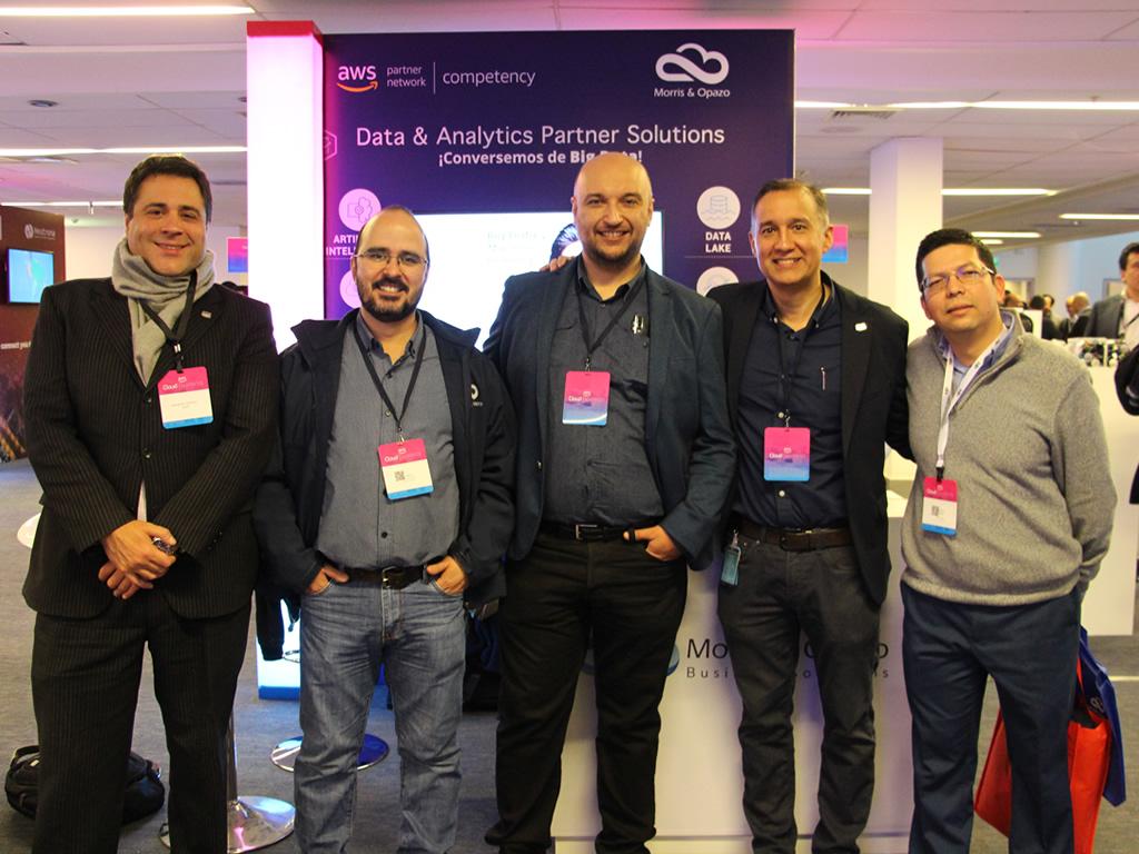 Morris & Opazo presente como patrocinador en el AWS Cloud Experience Chile 2019