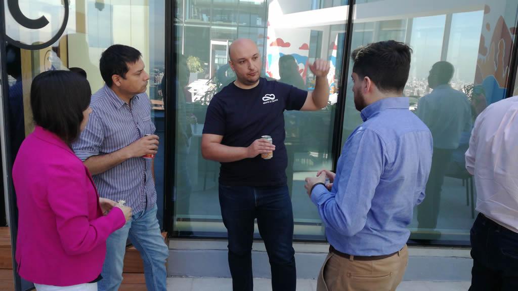 Durante el break del Worskhop fue posible encontrarse con los conocimientos y lecciones aprendidas de nuestro Especialista en Big Data, Marcelo Rybertt