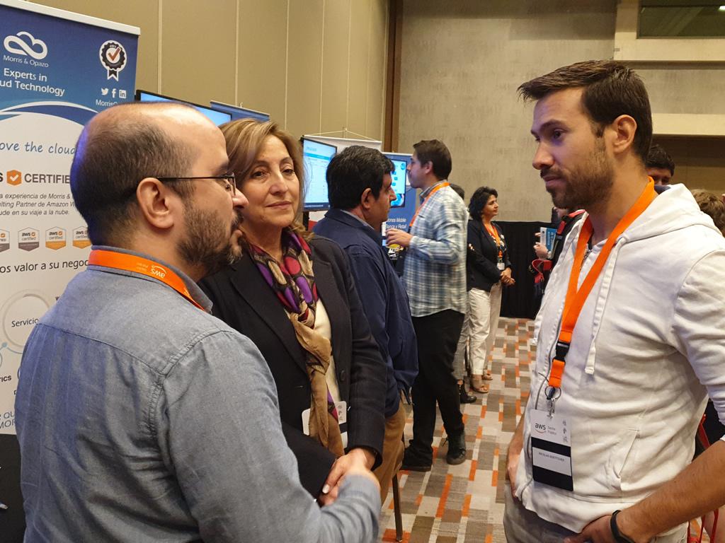"""Morris & Opazo participa en encuentro """"AWS Educate"""" de Amazon Web Services en Santiago"""